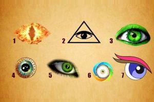 Escolha um olho e descubra o que seu subconsciente diz sobre você