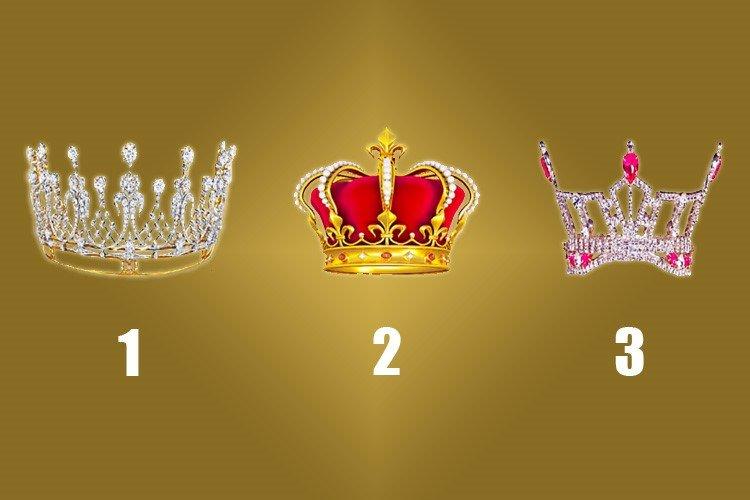 Escolha uma coroa e descubra a coisa mais importante que acontecerá no seu futuro