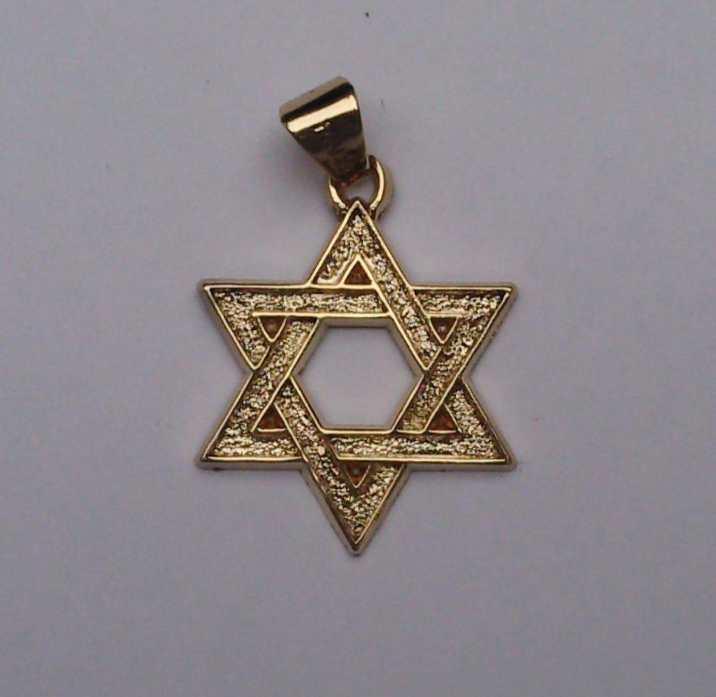 amuleto da sorte de Estrela de Davi