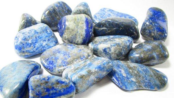 foto da pedra preciosa lápis lazuli