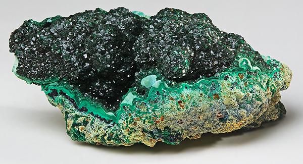 foto da pedra preciosa malaquita