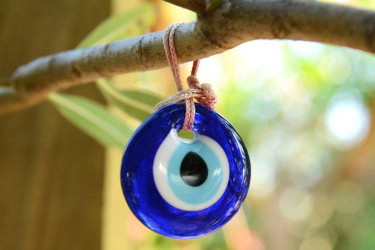amuleto da sorte de olho turco