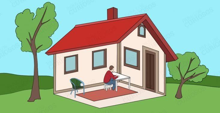 O homem está dentro ou fora de casa? Sua resposta revela muitas coisas sobre sua personalidade!