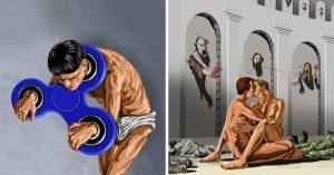 13 Imagens chocantes que mostram o declínio dos seres humanos na sociedade atual