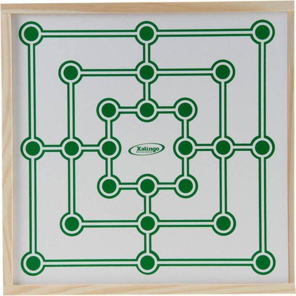 imagem do jogo de trilha tabuleiro