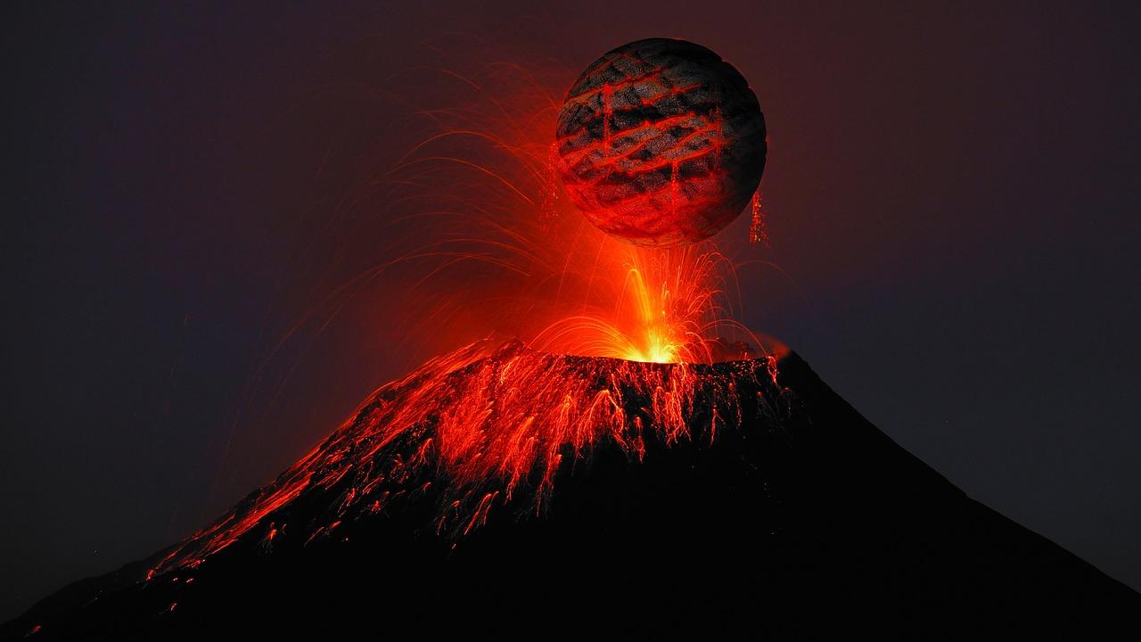 ▷ Sonhar Com Vulcão é Mau Presságio?