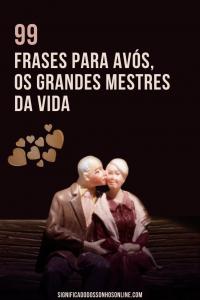 99 Frases para avós, os grandes mestres da vida