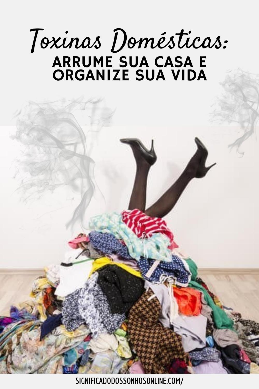 Toxinas domésticas: Arrume sua casa e organize sua vida
