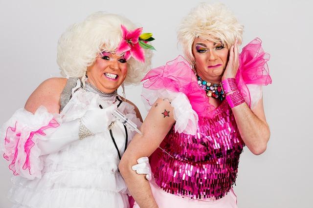 dois drag queen