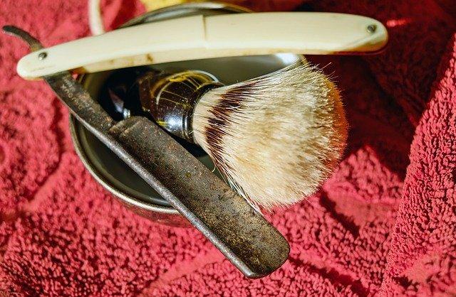 navalha de aço de barbeiro